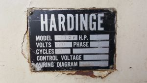 Hardinge Chucker Lathe 9
