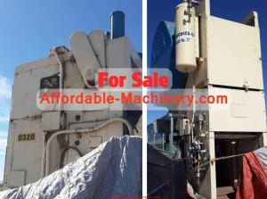 150 Ton Verson Metal Stamping Punch Press For Sale