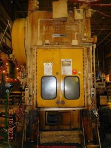 200 Ton Capacity Minster Straight Side Press For Sale