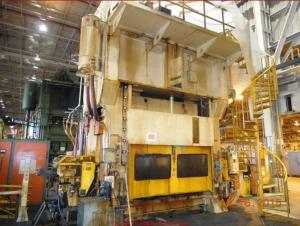600 Ton Capacity Minster Straight Side Press For Sale
