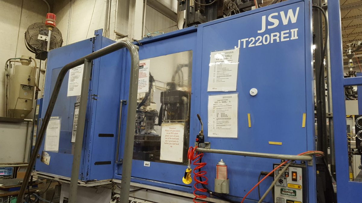 220 Jsw Plastic Injection Molding Machine For Sale Call