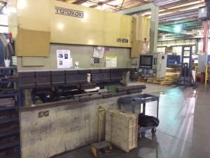 Toyokoki Electric Servo Press Brake 80 Ton For Sale