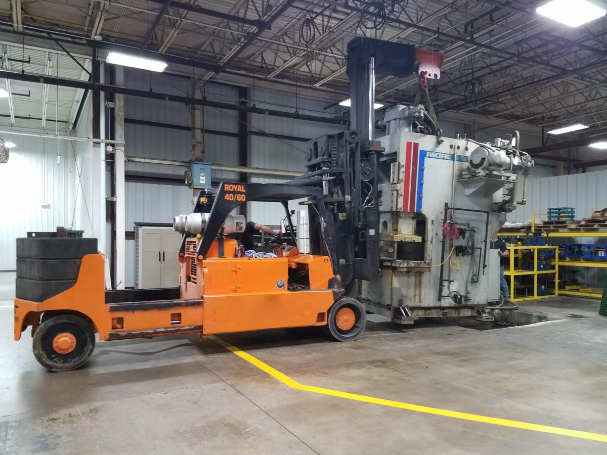 150 Ton Capacity Pacific Hydraulic Press For Sale Call