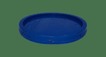 2 gallon lid chevron blue