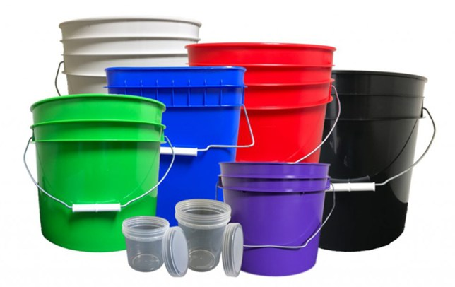 Buckets, Pails, Containers