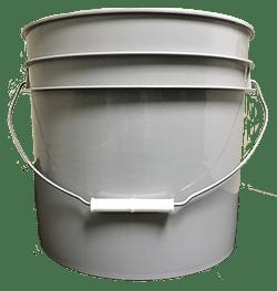3.5 gallon pail grey