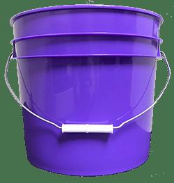 3.5 gallon pail purple