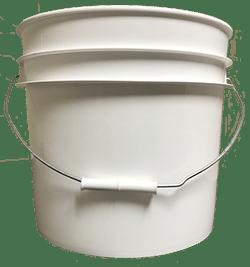 3.5 gallon pail white