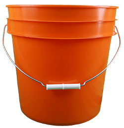4.25 gallon pail orange