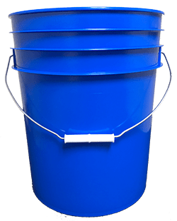 5 gallon pail blue