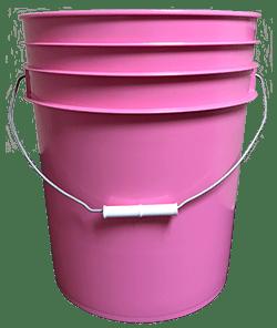5 gallon pail pink