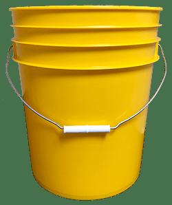 5 gallon pail yellow