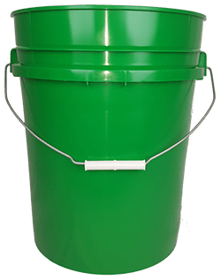 5.25 gallon pail green