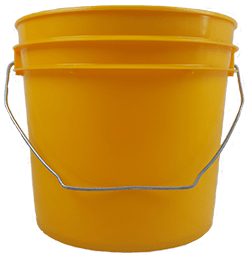 1 gallon pail yellow