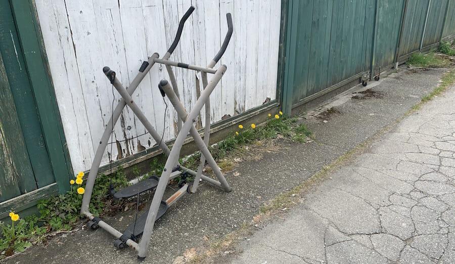 Exercise Equipment Scrap Metal Pickup Removal Winnipeg