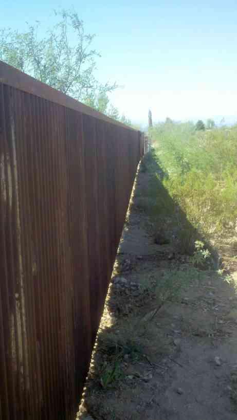 Corrugated Fence And Gates Affordable Fence Amp Gates