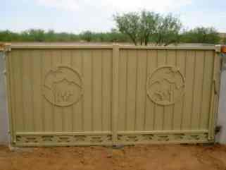 Ornamental Iron Gates Affordable Fence Amp Gates