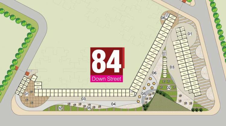 Pivotal Down Street Sector 84 Site Plan