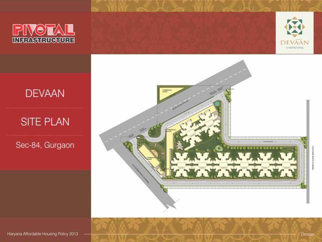 Pivotal Devaan Site Plan