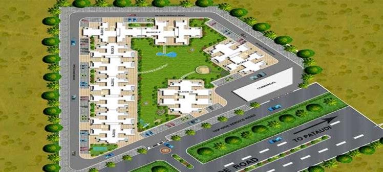 Ramsons Kshitij site plan