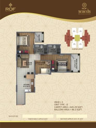 ramada rof ananda floor plan