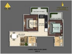 Type A 2BHK