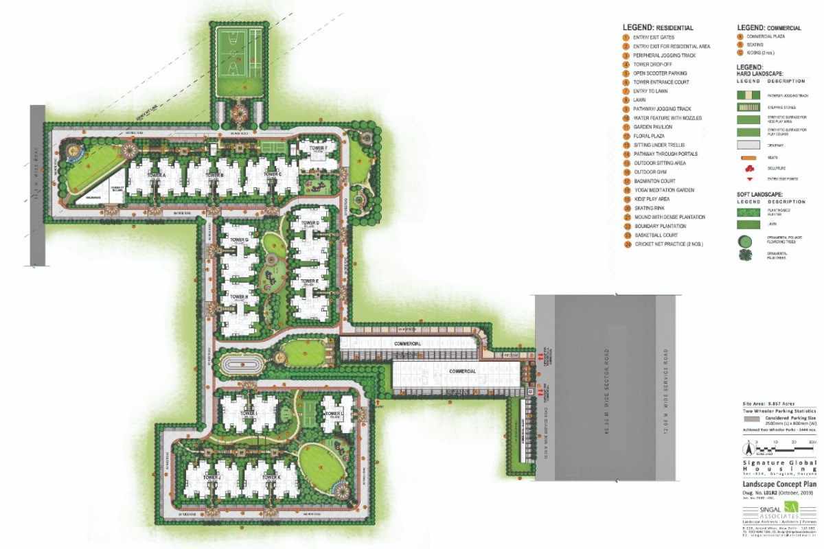 Signature global prime site plan