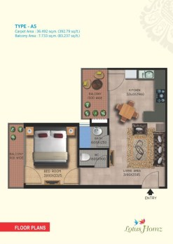 Type A5 - 1Bhk