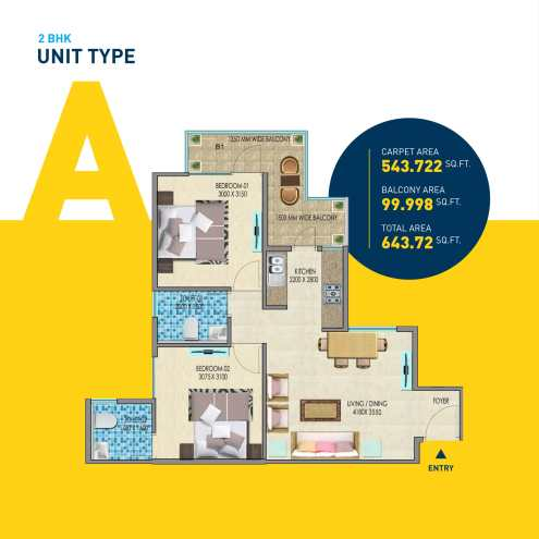 2-BHK-TYPE-A