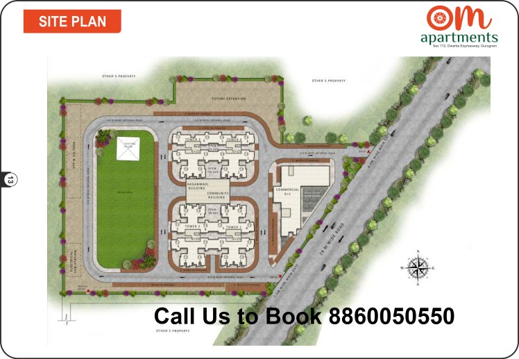 Om-Apartments-112-Site-Plan
