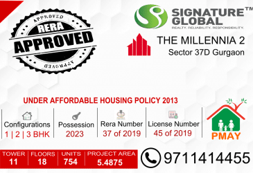 Signature The Millennia Sector 37D Phase 2 Gurgaon