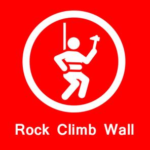 Rock Climb Wall in global park