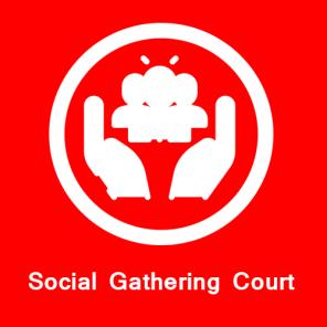 Social Gathering Court global park