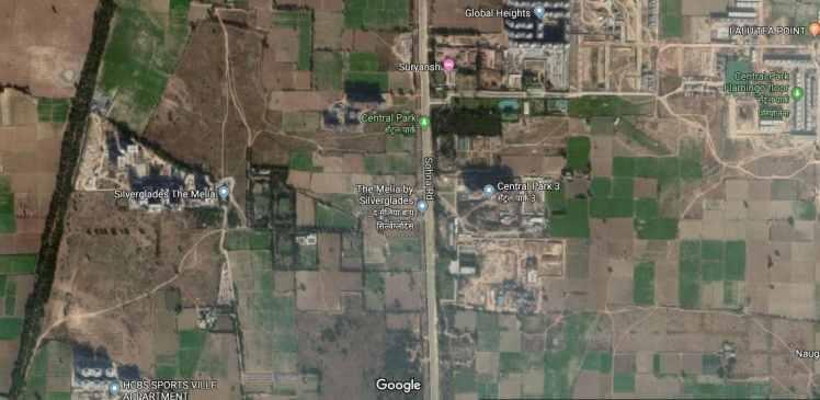 Pyramid Spring Valley Sector 35 Sohna Location Map