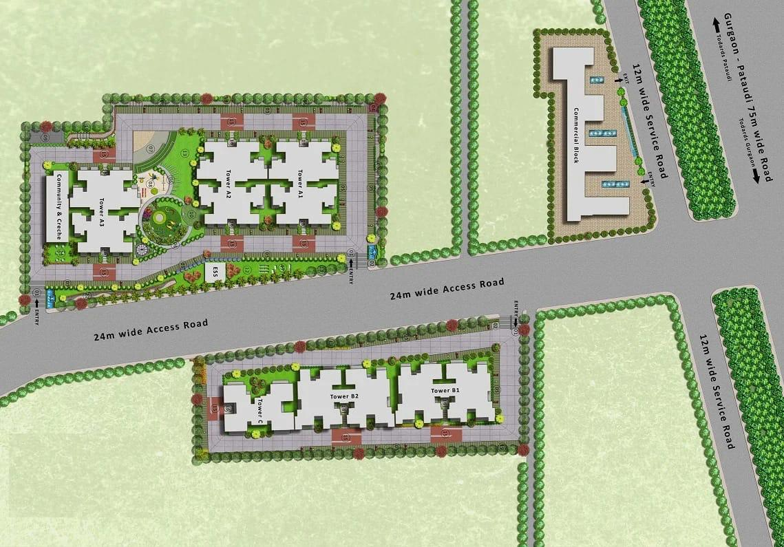 Site Map Mrg Meridian