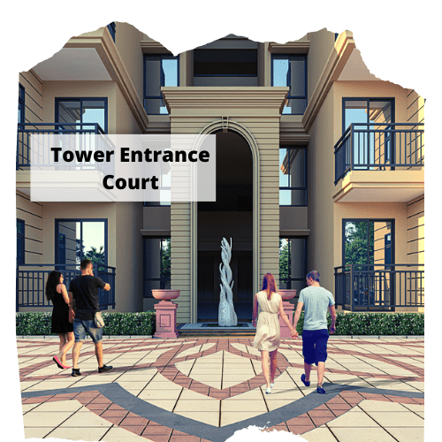 tower entrance court
