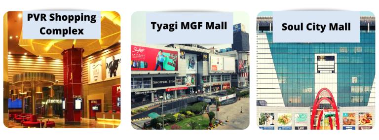 shopping malls near sector 108 gurgaon