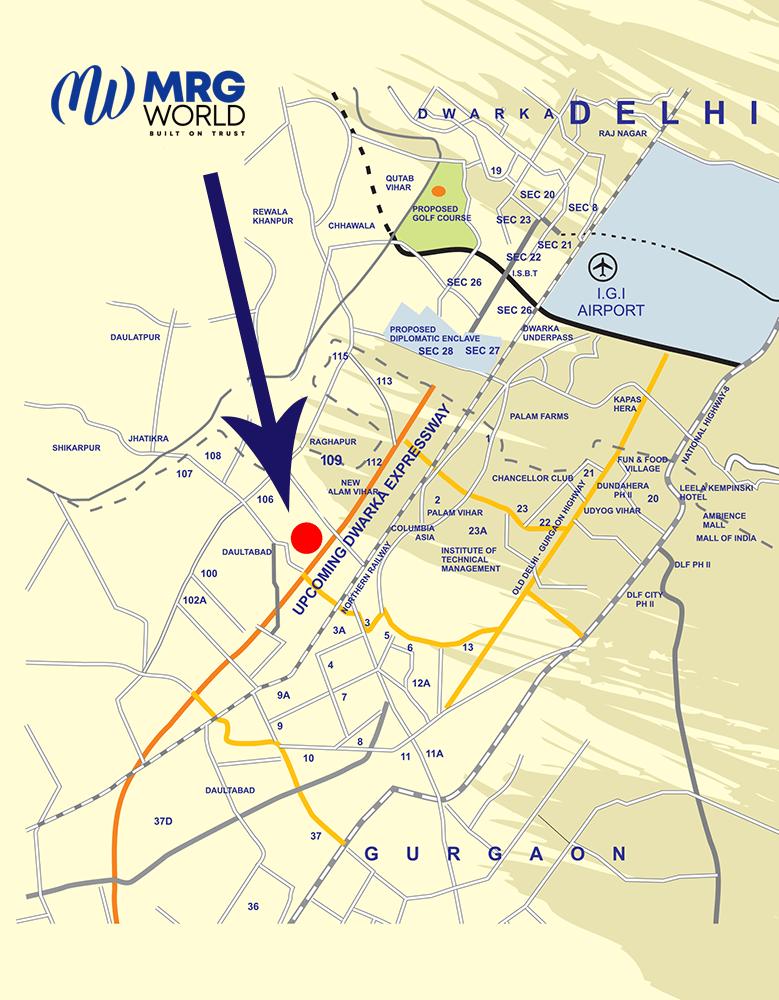 MRG Skyline Location Map