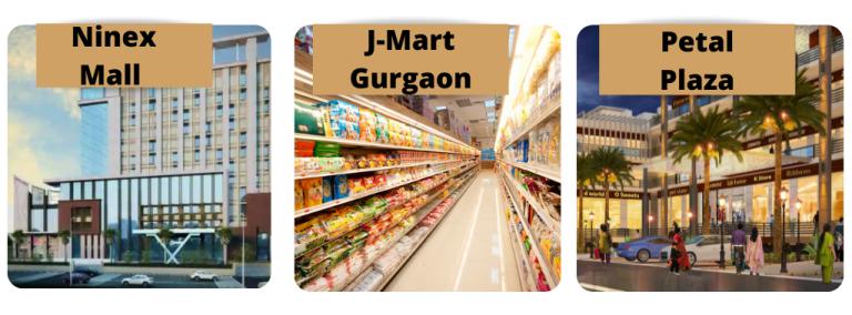 shopping malls near sector 70a gurgaon