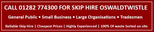 skip hire oswaldtwistle