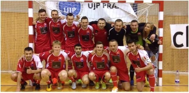 Lipino Zilina en route pour la finale de l'UEFS Futsal Champions Cup 2015