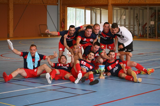 USR Futsal remporte la Coupe du Centre de Futsal AMF 2015