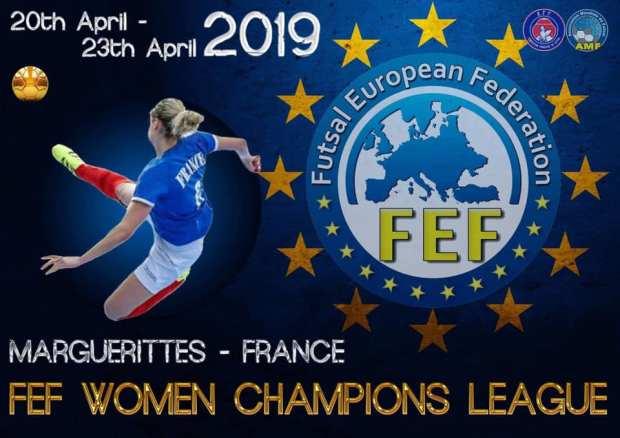 poster fefwomenchampionsleague2019