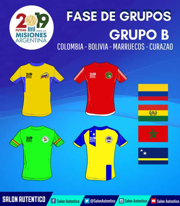Groupe B Mondial AMF 2019