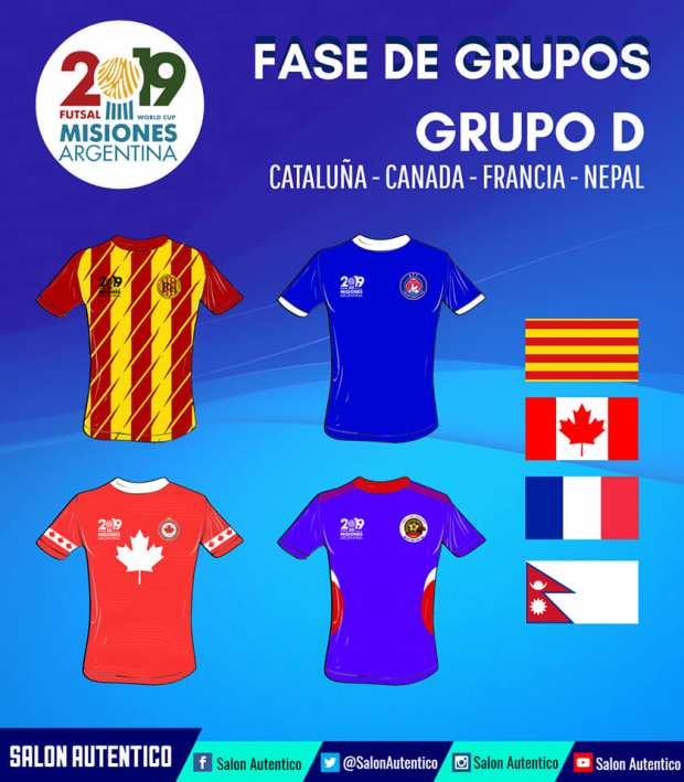 Groupe D Mondial AMF 2019