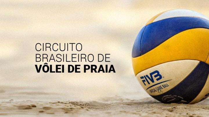 AO VIVO: Circuito Brasileiro De Vôlei De Praia de 16:45 a 18:45