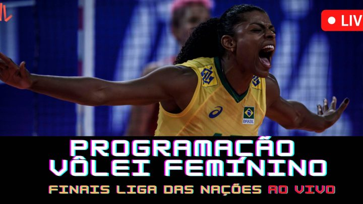 Programação – Liga das Nações Feminino 2021