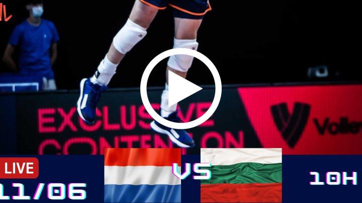 Holanda 2 vs 3 Bulgária – Liga das Nações Masculina – 11/06/2021