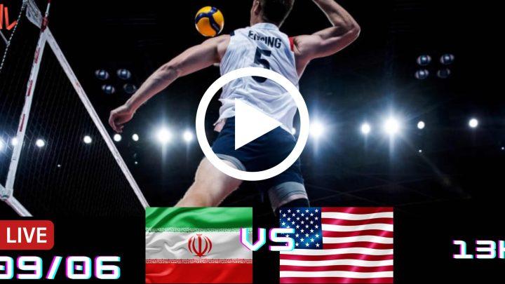 Resultado: Irã 3 vs 0 EUA – Liga das Nações – 09/06/2021