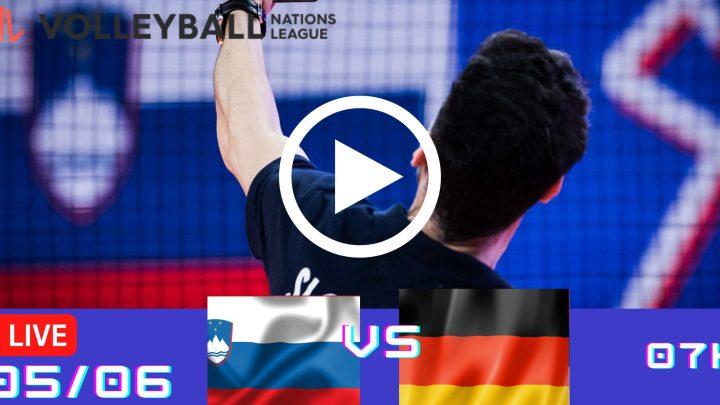 Resultado: Eslovênia 1 vs 3 Alemanha – Liga das Nações – 05/06 – 07h